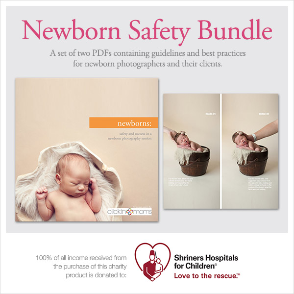 Newborn Safety information bundle for parents and photographers