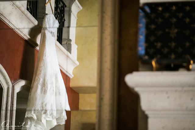 wedding dress detail photograph by Anita Martin