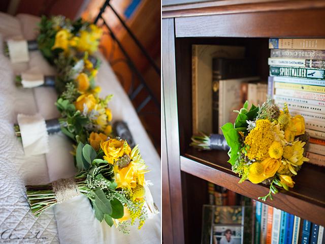 wedding bouquet detail photograph by Anita Martin