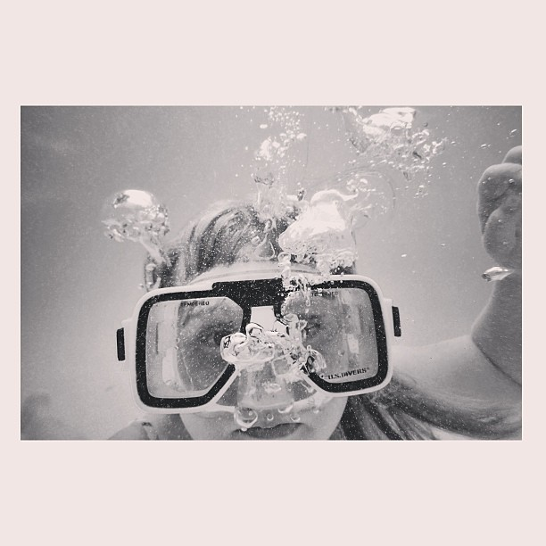 underwater instagram photo by kyla_ann
