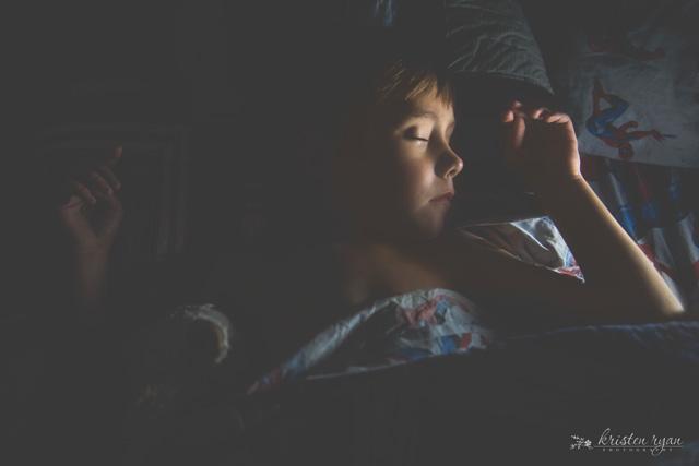 5 D asleep