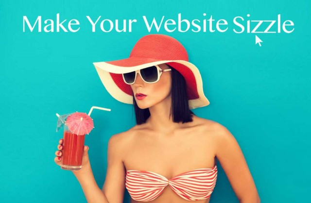 how to make your website sizzle by Jade Wills