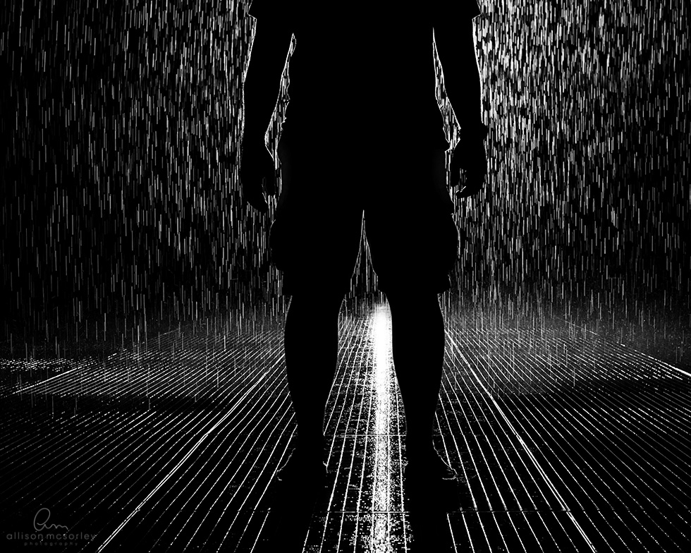 rain room by Allison McSorley