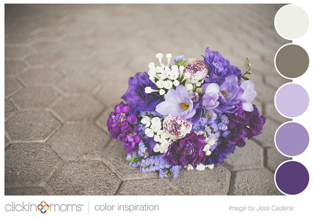 Color Inspiration: Shades Of Purple Color Palette Inspiration By Jess Cadena