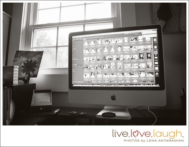 a day in the life with photographer Lena Antaramian of Live love Laugh Photos