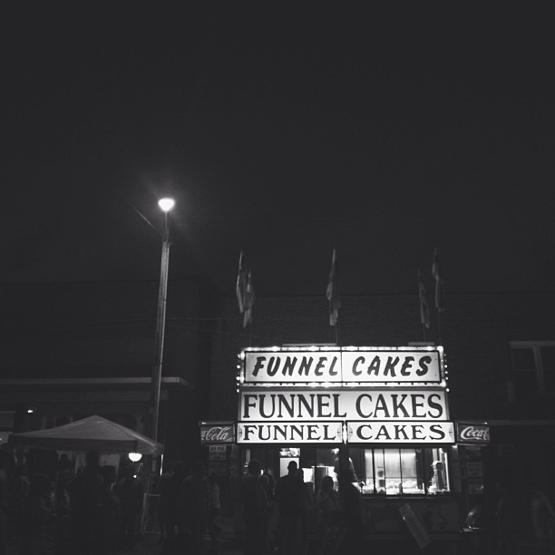 funnel cakes at the fair instagram photo by songbird70