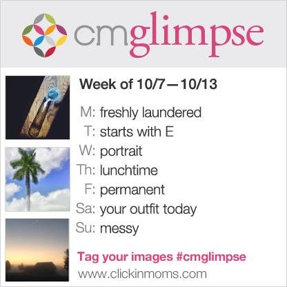 CMglimpse instagram project prompts