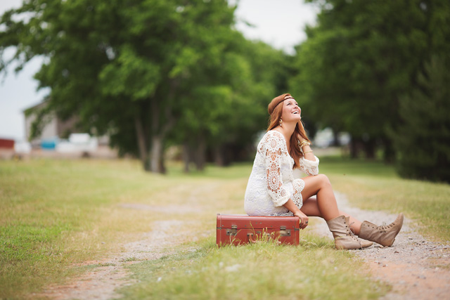 Oklahoma senior photography by Hope Toliver