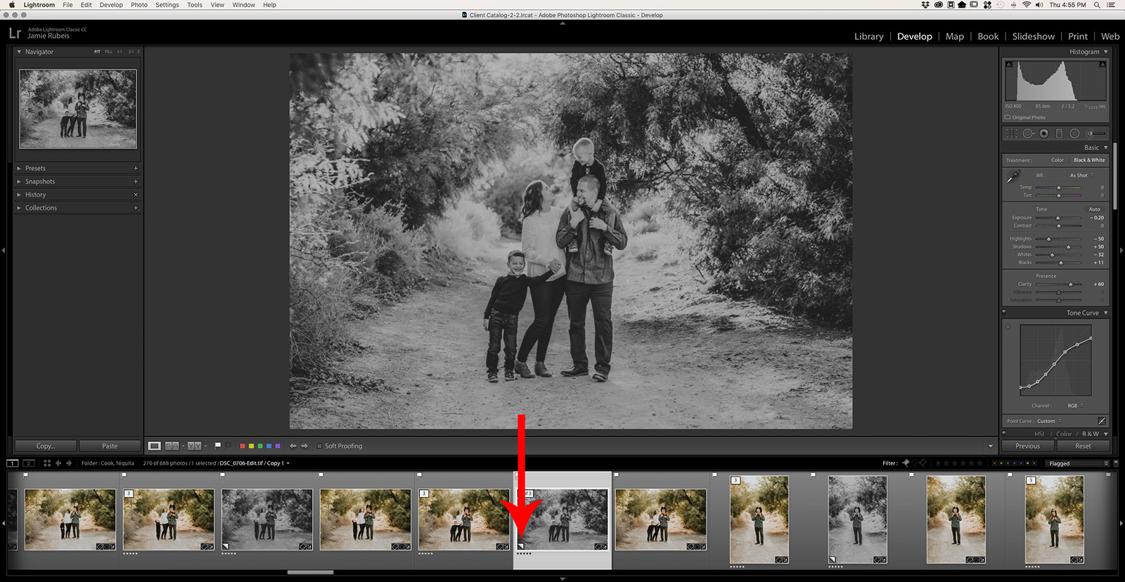 Lightroom offers plenty of flexibility when it comes to saving various versions of one image which often generates some confusion among its users.