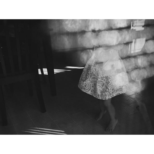 black and white bokeh instagram photograph by nlmonaco