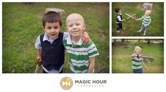 donating your photography to the Magic Hour Foundation