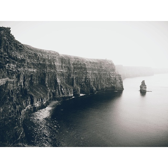 ireland cliff instagram picture by kimturnerphotography