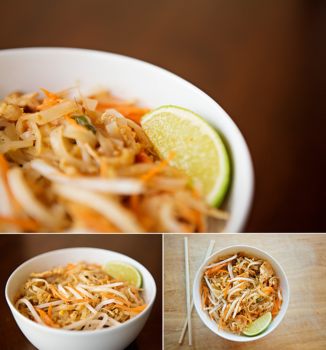 Thai food by Alicia Gould