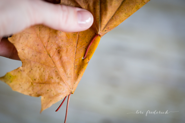 how to make a crown of leaves by Lori Frederick