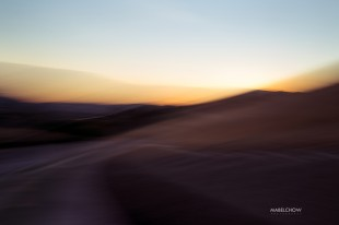 slow motion landscape photograph by Mabel Chow