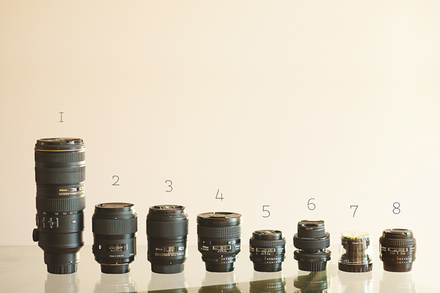 the Nikon lenses of photographer Marissa Gifford