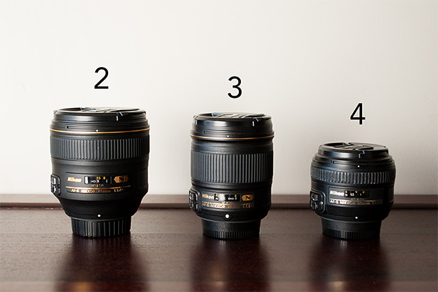 Nikon lenses of photographer Allison McSorley