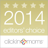 Clickin Moms editors choice award