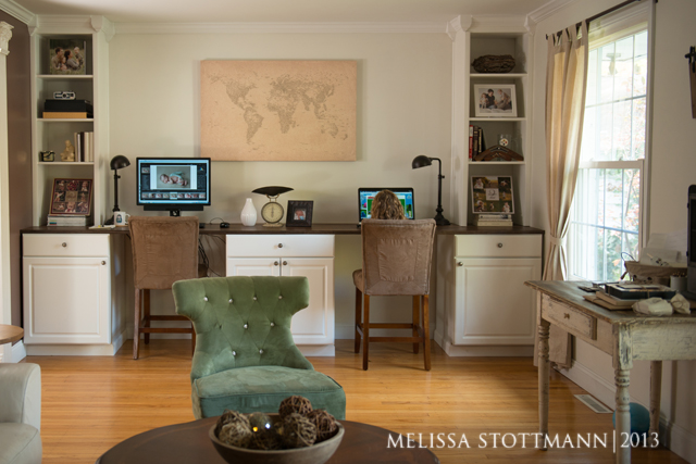 the office space of photographer Melissa Stottmann 1