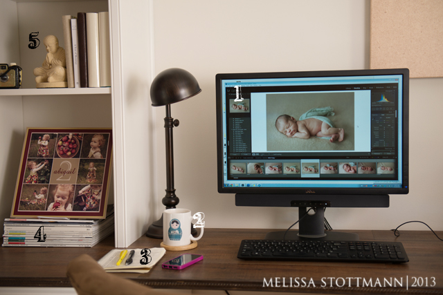 the office space of photographer Melissa Stottmann 2