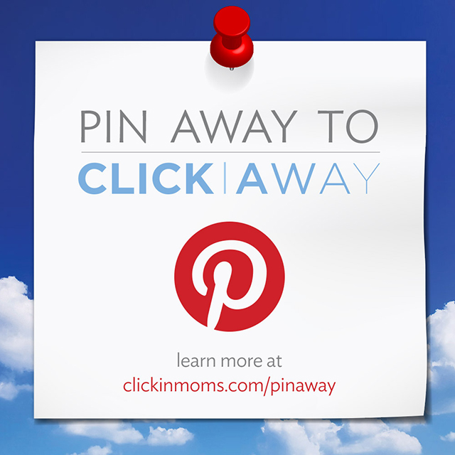 Pin Away to Click Away pinterest contest
