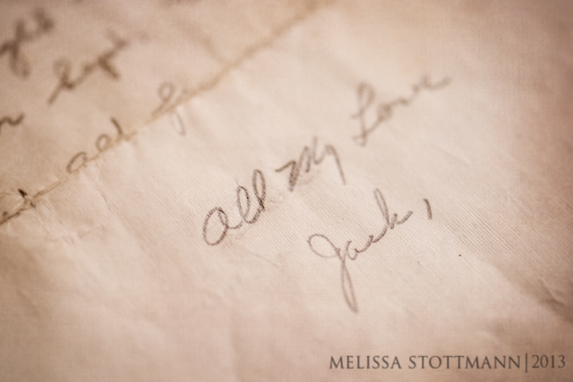 love letters personal photography project of Melissa Stottmann