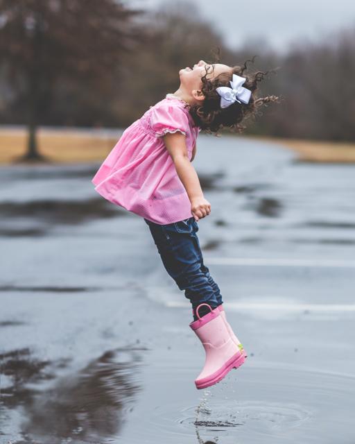 jumping in the rain photograph by kfarnham9
