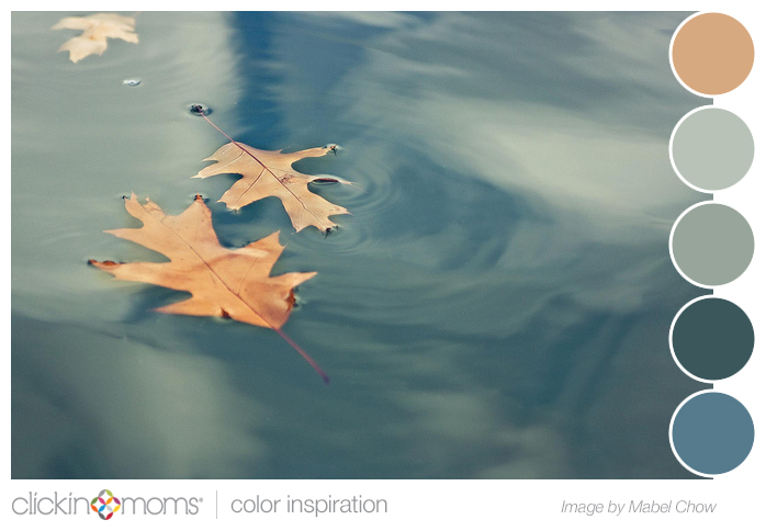 Color Inspiration: Color Palette Inspiration: Blue Gray And Green Leaf From