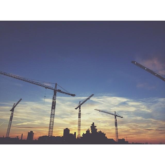 sunset instagram photograph by 5_little_birds