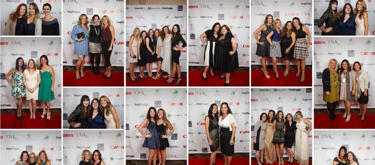 Red carpet photos from the Voice gallery night at Click Away 2014