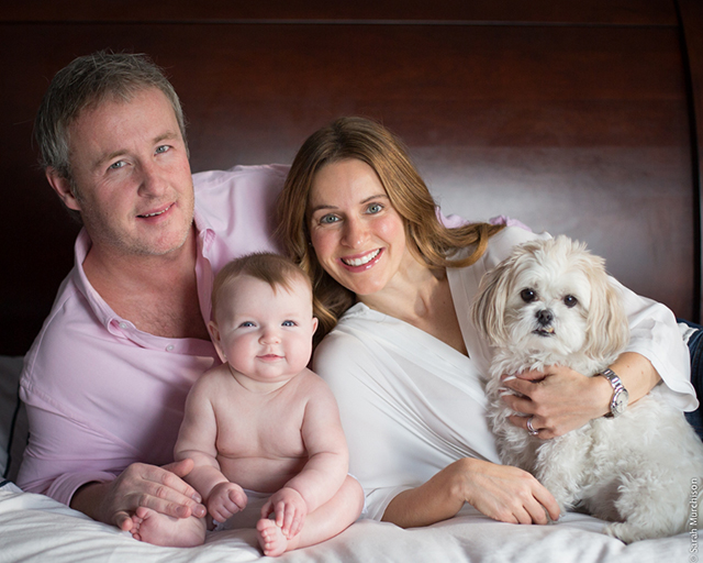 family with newborn pic by Sarah Murchison
