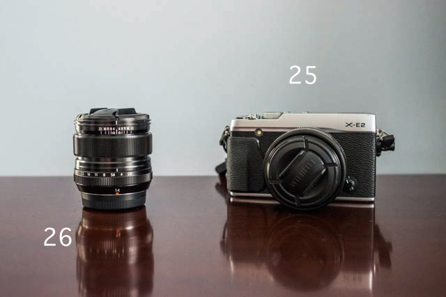 fuji mirrorless camera and lenses