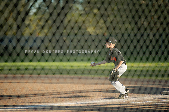 little league baseball photo by Megan Squires