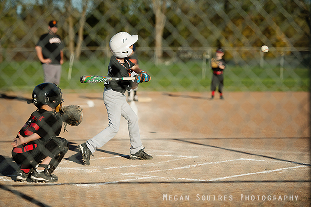 photographing baseball tutorial by Megan Squires