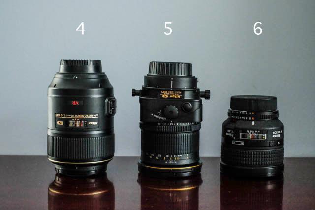 prime Nikon lenses