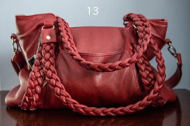 red epiphanie camera bag