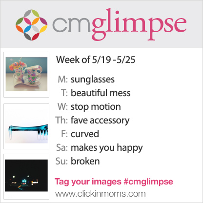CMglimpse instagram photo project prompt list for May 19