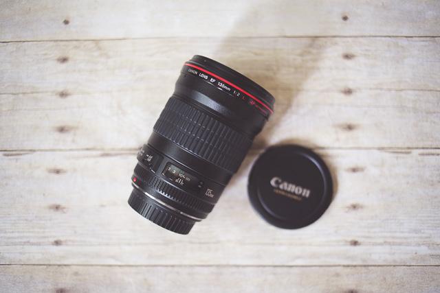 Canon 135L lens