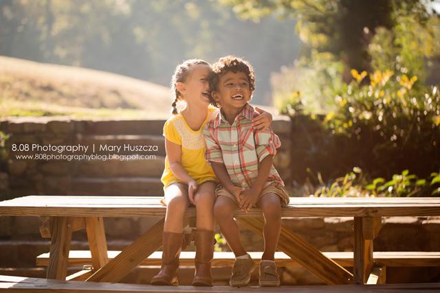 children laughing photo by maryhu