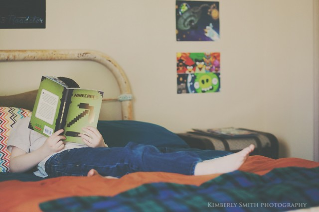 minecraft book by kimberly_smithphotography