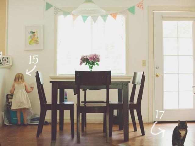 kitchen of photographer Heather Lazark
