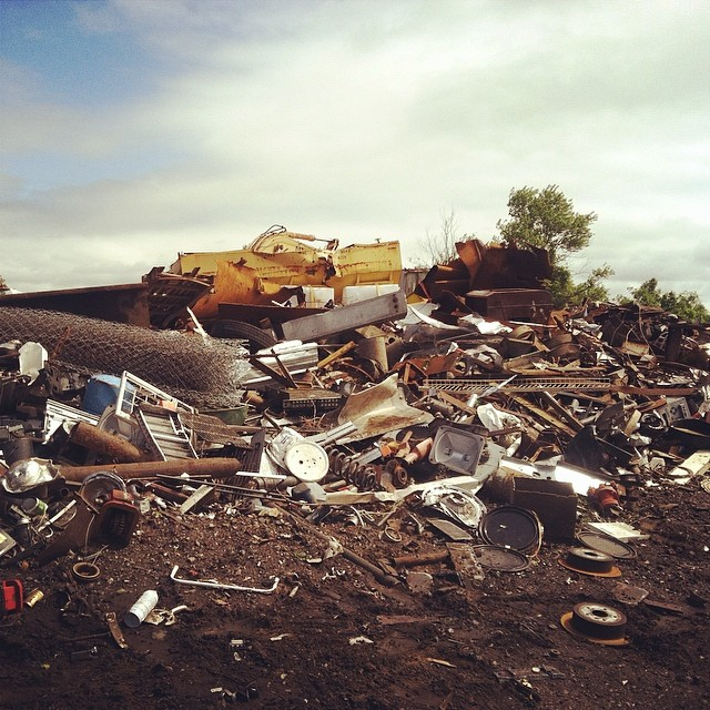 metal junkyard instagram picture by gypsypyephotos