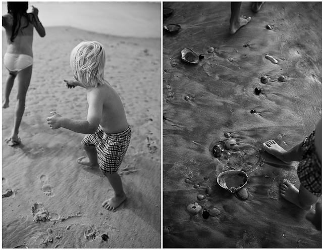 playing at the beach by Roxanne Bryant Photography