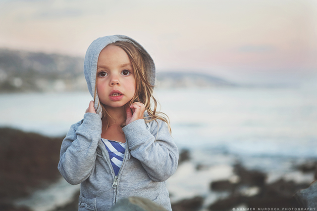 photo of child at beach by Summer Murdock