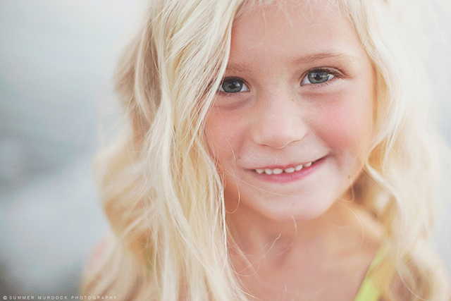 smiling girl photo by Summer Murdock
