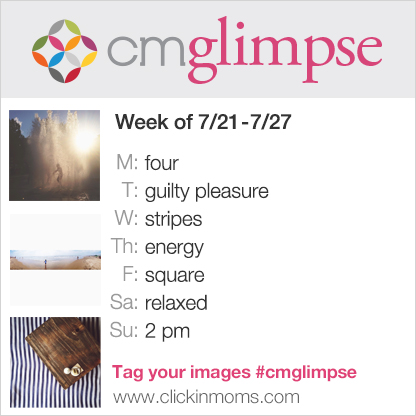 CMglimpse Instagram project prompt list for July 21