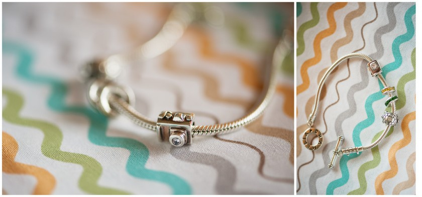 Chamilia bracelet with a camera by Kelly Rodriguez