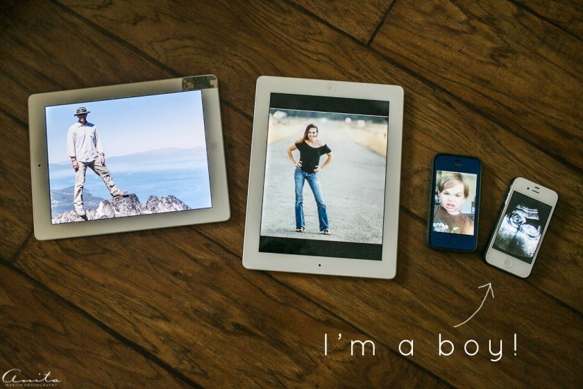 11 fun and creative photos to announce your pregnancy – Electronic Baby Announcements