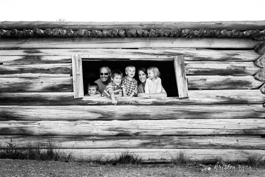 family portrait in window by Kristen Ryan 8