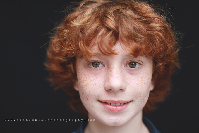 How to photograph fine art school portraits